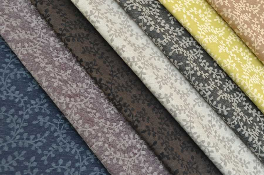 Padables range of Fiorano Trailing Leaf Fabrics Fabric