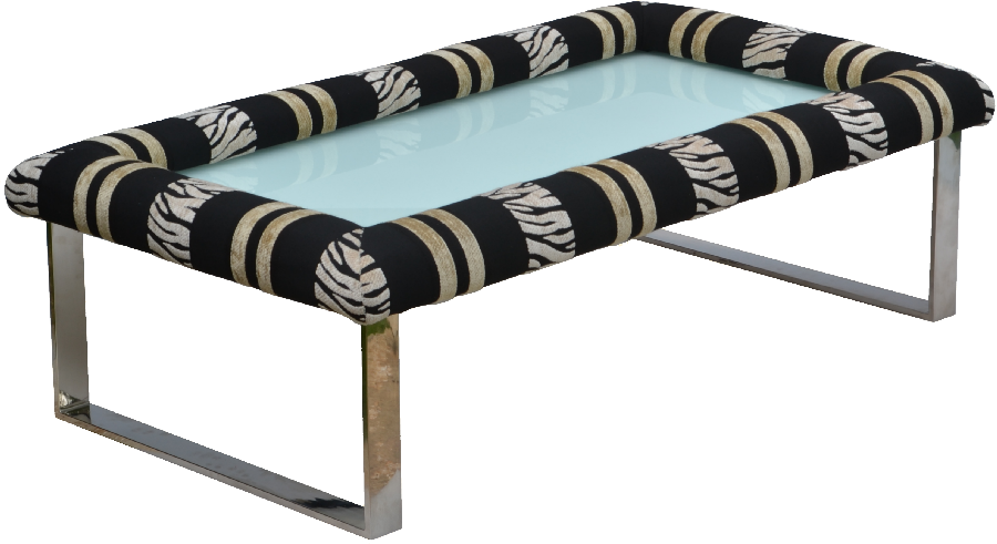 Padable Footrest on Inola Coffee Table