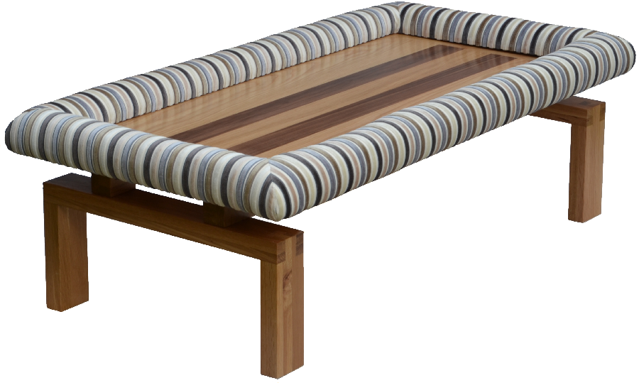 Padable Footrest on Low ravenna Coffee Table